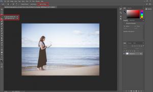 bouton select subject photoshop