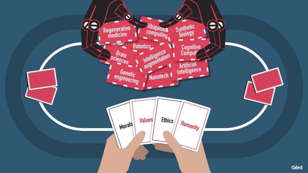 ia distribue cartes poker
