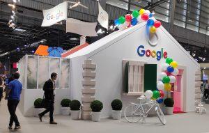 Stand Google à Viva Tech