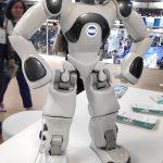 Nao le petit robot, dont tout le monde a entendu parler (et qui est présent chaque année)