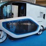 Un vélo-camion pour transporter des marchandises