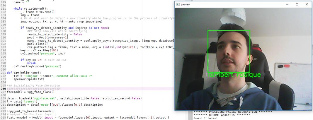 reconnaissance faciale ordinateur