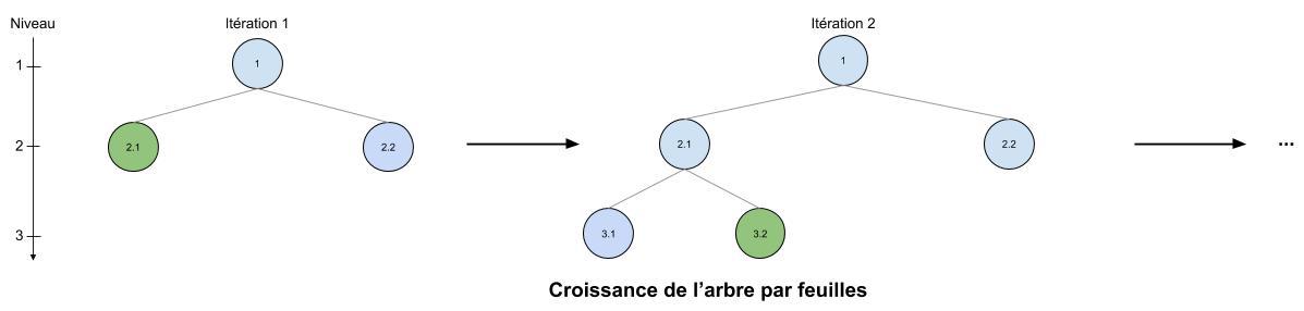 Croissance de l'arbre par feuilles (1)