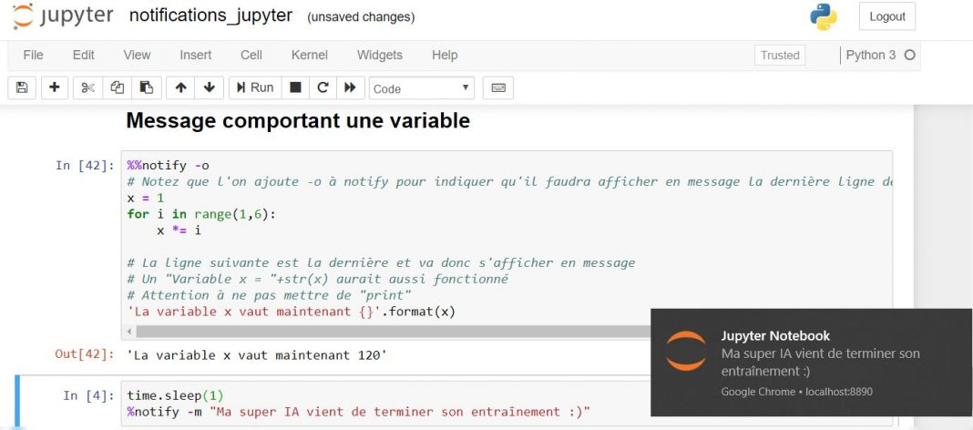exemple notification jupyter tuto2