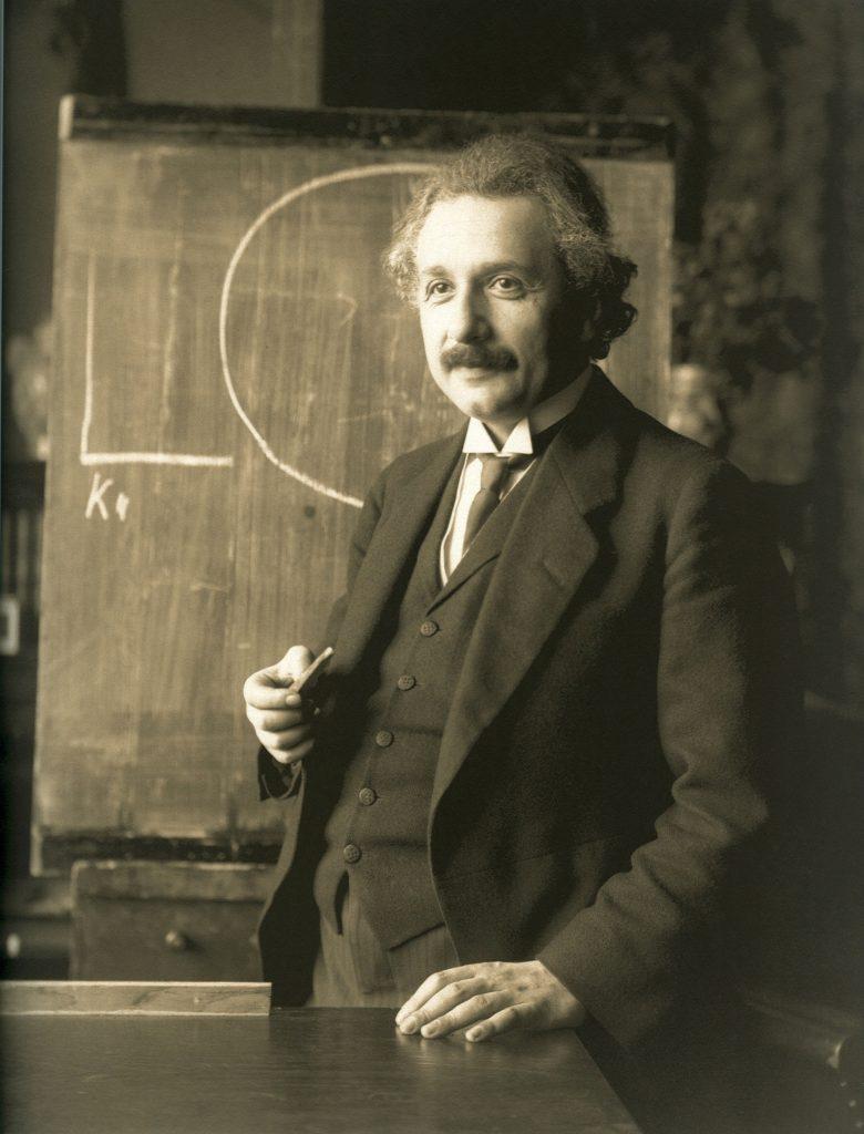 Albert Einstein. 10% cerveau